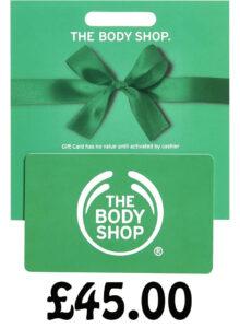 Body Shop Gift card